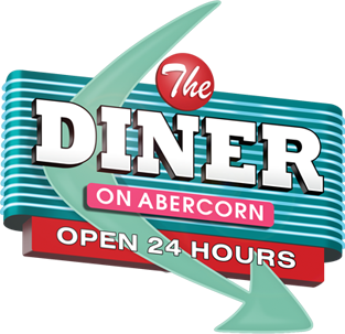 The Diner on Abercorn footer logo